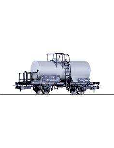 Carro cisterna H0 benzene di DRG Tillig H0 76622