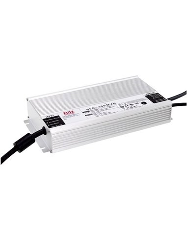 Mean Well HVGC-650-M-AB Driver per LED Potenza costante 651 W 4.2 - 5.25 A 62 - 155 V/DC regolabile, dimmerabile,
