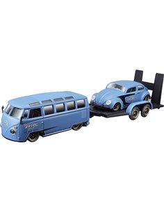 Maisto Design Elite Transporter VW Van & Beetle 1:24 Automodello