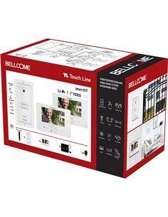 Bellcome SCU.VDR03.BLG34 Kit completo Video citofono Cablato 14 parti Bianco