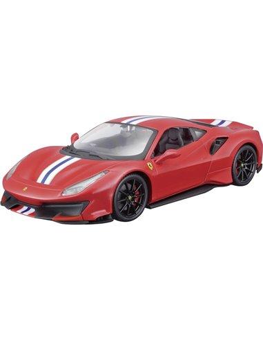 Bburago Ferrari 488 Pista 2018 1:24 Automodello