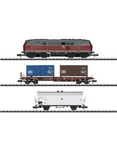 MiniTrix 11146 N Confezionamento treno merci DB