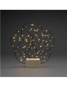 Konstsmide 1784-787 Paesaggio a LED Rete Ambra LED (monocolore) Nero dimmerabili
