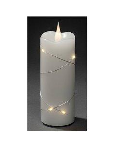 Konstsmide 1824-190 Candela a LED Bianco Bianco caldo (Ø x A) 50 mm x 127 mm