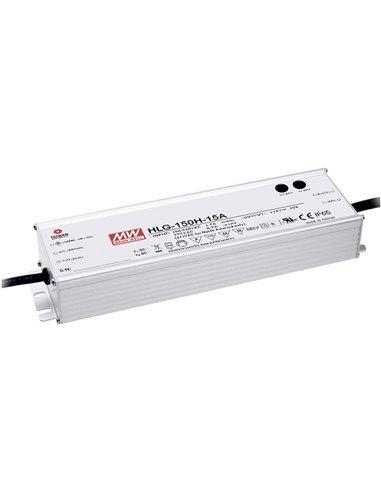 Mean Well HLG-150H-30A Driver per LED, Trasformatore per LED Tensione costante, Corrente costante 150 W 5 A 30 V/DC
