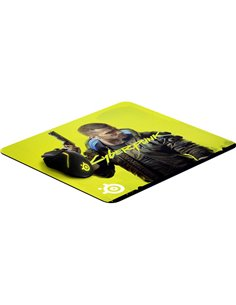 Steelseries QcK Large Cyberpunk Edition Mouse Pad Giallo (L x A x P) 450 x 2 x 400 mm