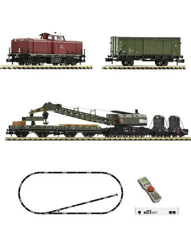 Fleischmann 931899 N z21 start DigitalSet locomotiva diesel BR 212 con cavo di montaggio del DB