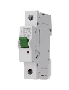 Kopp 720602005 Interruttore magnetotermico a 1 fase 6 A 230 V, 400 V