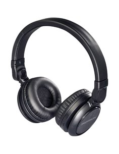 Thomson WHP-6007 B Bluetooth Cuffia Cuffia On Ear headset con microfono, regolazione del volume Nero