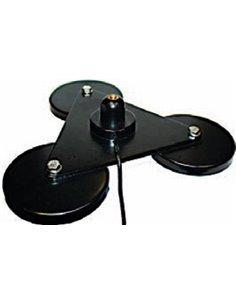 """MFJ-336T - Super base magnetica a 3 magneti  connettore 3/8"""""""