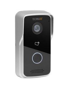 Technaxx 4688 Video citofono IP WLAN, LAN Kit completo Casa Monofamiliare Argento, Nero