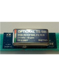 TS-990 2.4 KHz SSB Roofing Filter Pulg and Play by IK8TNG