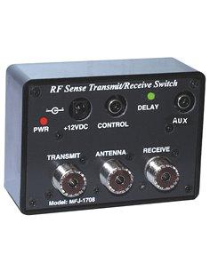 MFJ-1708 switch box automatico tra RX e TX commutato da linea SEND
