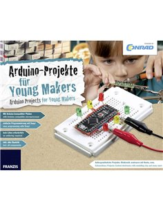 Kit per i Makers Conrad Components Conrad Arduino für Young Makers 15000 da 14 anni