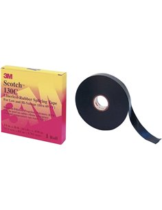3M Scotch™ 130C 7000006085 Nastro per riparazioni Scotch® 130C Nero (L x L) 9 m x 19 mm 1 Rotolo(i)