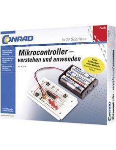 Pacchetto di apprendimento Conrad Components Profi Mikrocontroller 10104 da 14 anni