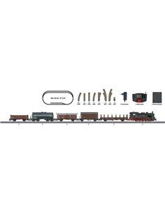 Start set digitale treno trasporto merci epoca III in scala H0 Märklin 29721