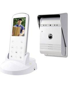 Smartwares VD36W Video citofono Senza fili (radio) Kit completo Casa Monofamiliare