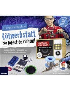 Kit da costruire Franzis Verlag Lötwerkstatt 65352 da 14 anni