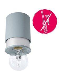 Plafoniera LED, Lampadina Alogena E27 Classe energetica: a seconda della lampada 40 W Twister Lighting Living 15657