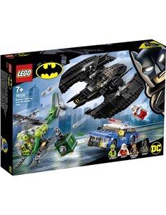 LEGO® DC COMICS SUPER HEROES 76120 Batman™: Bat-aereo e il Riddler™-incursione