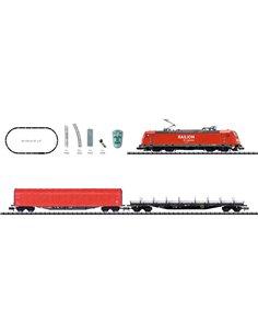 MiniTrix T11145 N kit di avviamento digitale treno merci di DB AG