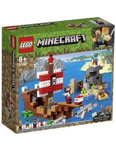 LEGO® MINECRAFT 21152 La nave dei pirati avventura