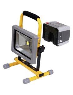 LED COB Lampada da lavoro a batteria ricaricabile Shada 300171 20 W 1500 lm
