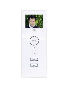 m-e modern-electronics VDV-503 WW Video citofono Cablato unità interna Casa Monofamiliare Bianco