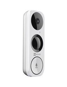 ezviz CS-DB1-A0-1B3WPFR Video citofono IP WLAN Unità esterna Casa Monofamiliare Bianco, Nero