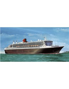 Nave in kit da costruire Revell 5199 Queen Mary 2 1:400