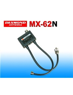 Diamond MX-62N - Duplexer 1.6-56 / 76-470 MHz
