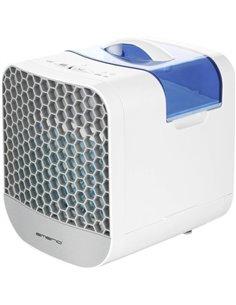 EMERIO Air cooler Raffrescatore evaporativo (L x L x A) 16 x 20 x 20 cm Bianco