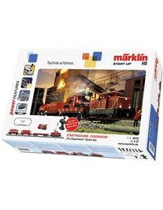 Kit davviamento vigili del fuoco H0 della DB Notfalltechnik Märklin 29722