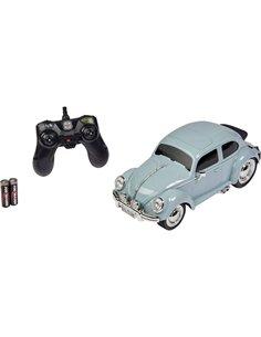 Carson Modellsport VW Käfer Azzurro Brushed 1:14 Automodello Elettrica Auto stradale RtR 2,4 GHz